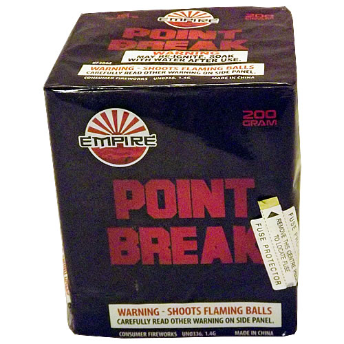 Point Break - 16 shot