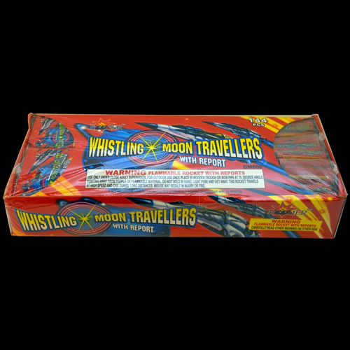 Whistling Moon Travel Bottle Rockets