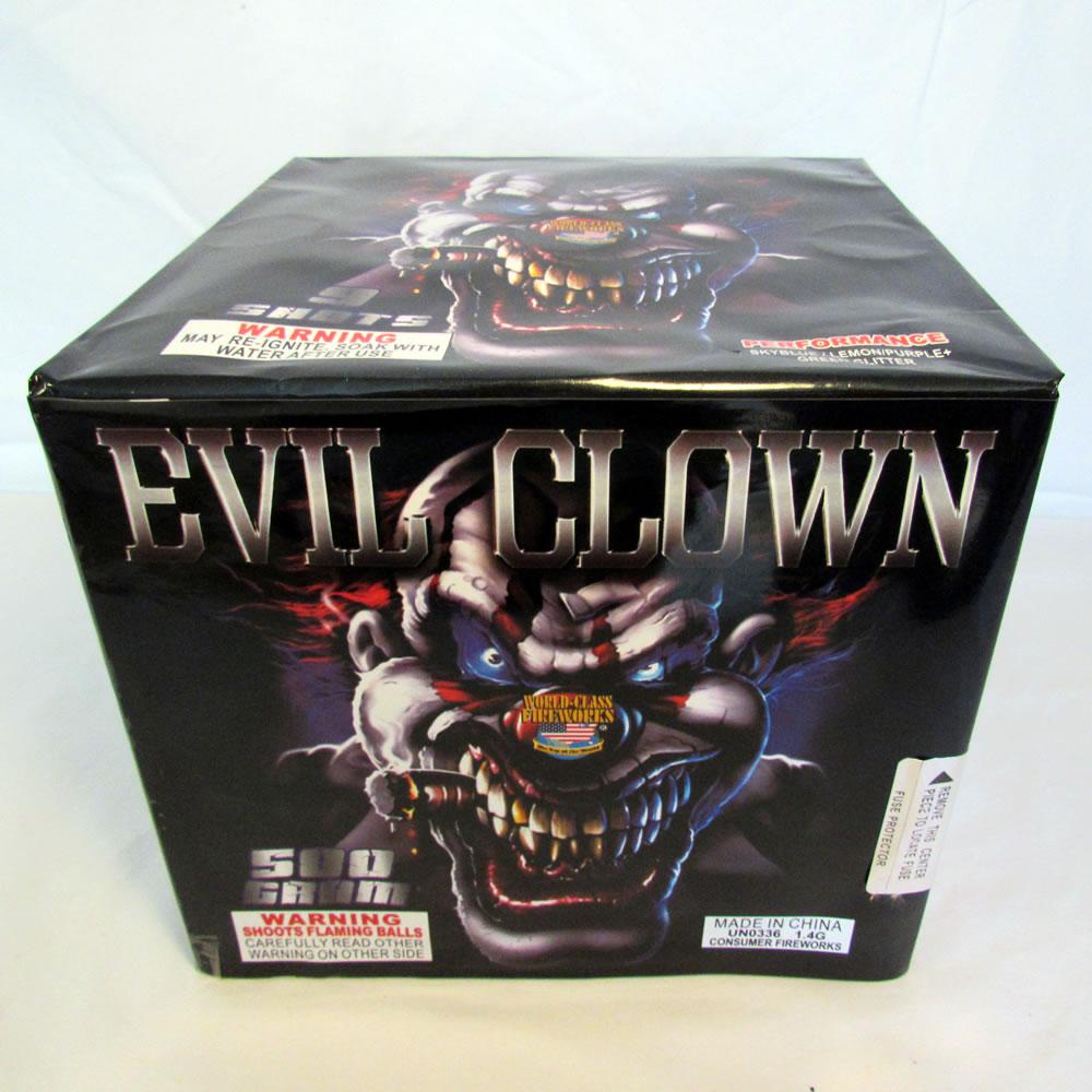 Evil Clown - 9 shot