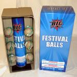 Festival Balls - Blue Box