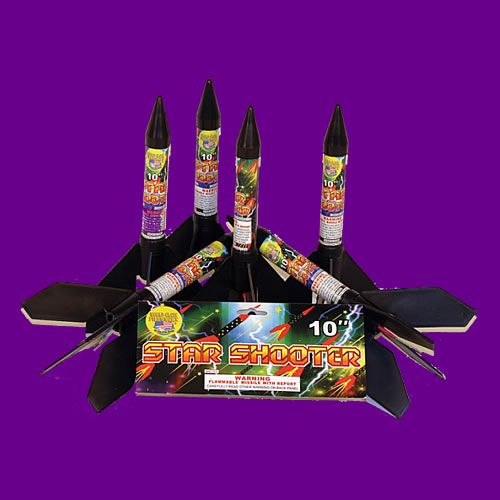 10 inch Star Shooter Missile