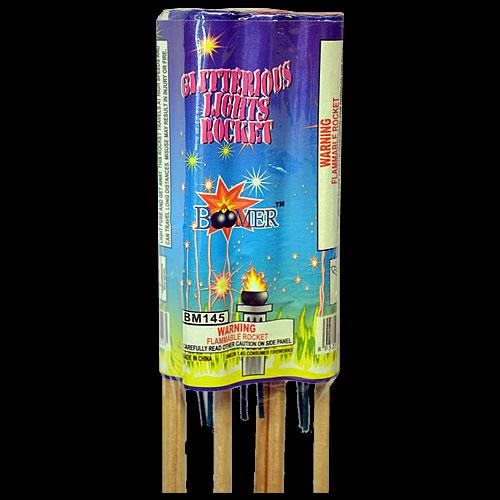Gilitterous Light Rockets