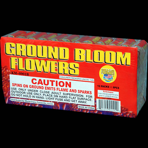Ground Bloom Flowers - 12 -6 packs