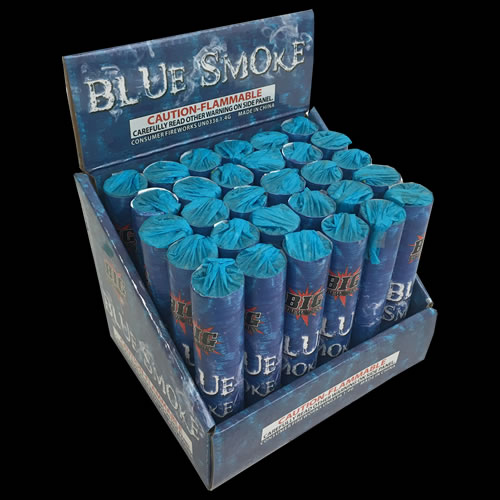 Blue Colored Smoke