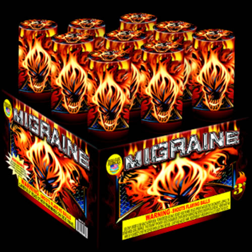 500 Gram Repeaters | Rizer Fireworks