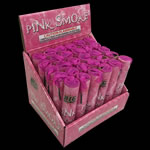Pink Colored Smoke