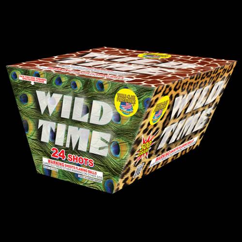 Wild Time - 24 Shot Z Cake